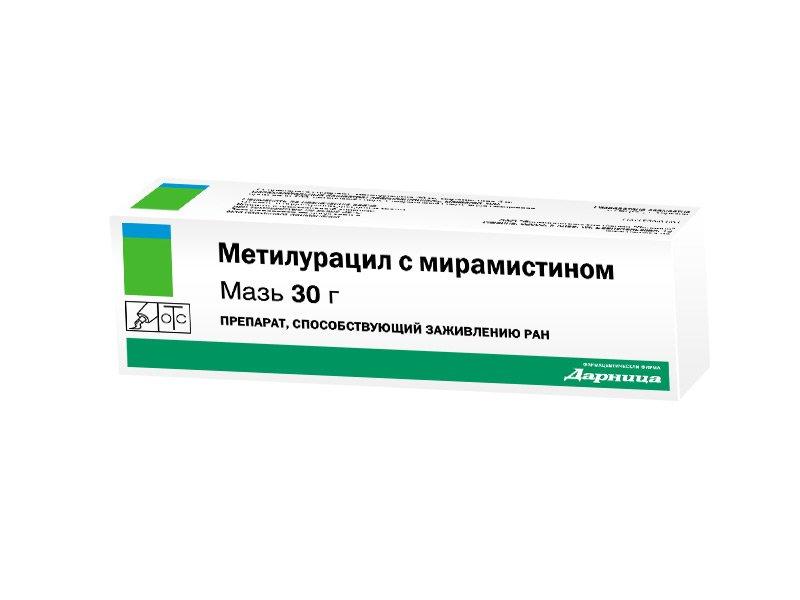 Метилурацил с мирамистином инструкция