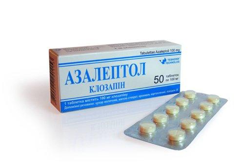 азалептол таблетки инструкция