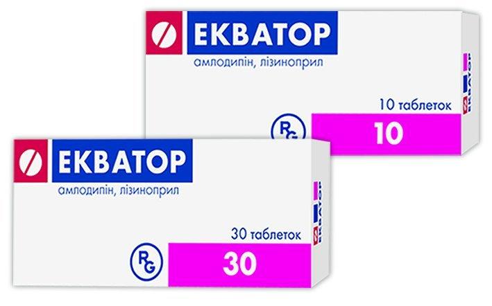 ЭКВАТОР 0,005+0,02 N30 ТАБЛ - Apteka.ru
