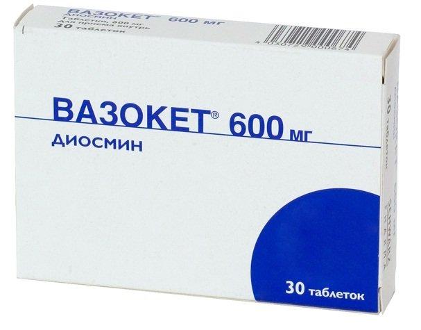 вазокет 600 инструкция цена