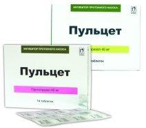 пульцет 40 мг инструкция
